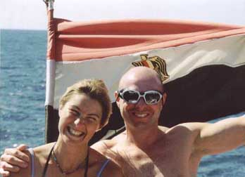 Divemasters - Trevor and Becky